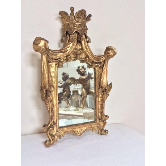 18th Century French Tassel Mirror - Image 2 of 11