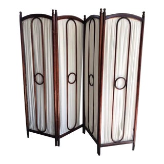 Thonet Bent Beech Wood Screen & Room Divider From Christie's Streisand Auction