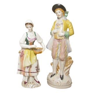 Staffordshire Style Figurines - A Pair