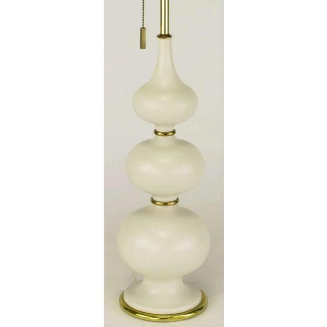 Gerald Thurston For Lightolier Triple Gourd-Form Table Lamp - Image 3 of 5