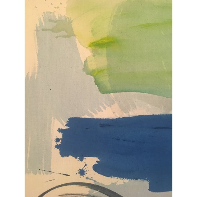 "1980 ""Cyprus Sea"" Abstract Painting - Image 6 of 11"