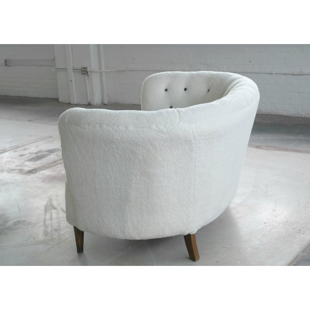 Vintage Slagelse Moebelvaerk Danish Loveseat - Image 8 of 8
