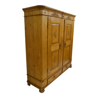 Danish Two-Door Knock Down Armoire