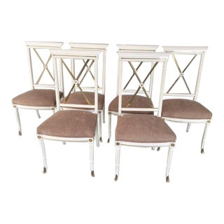 1940s Vintage French Chairs - Set of 6