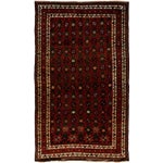 """Image of New Tribal Hand Knotted Area Rug - 5'2"""" x 8'9"""""""