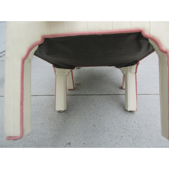 Parsons Style Stools or Footstools -A Pair - Image 4 of 10
