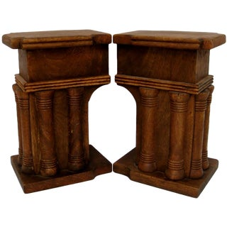 Architectural Bookends - A Pair