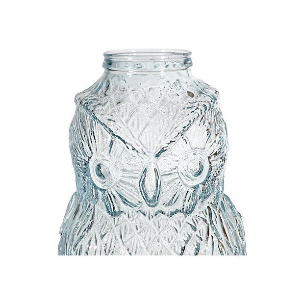 Advertising Large Owl Glass Bank - Image 2 of 6