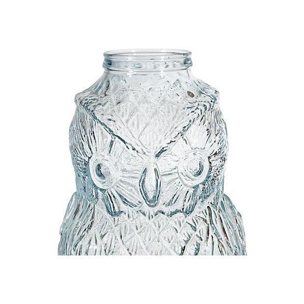 Image of Advertising Large Owl Glass Bank