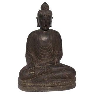 Stone Carved Garden Buddha Statue
