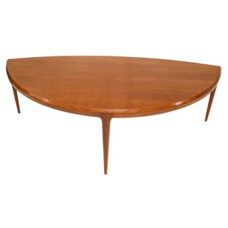 Mid-Century Danish Johannes Andersen Coffee Table