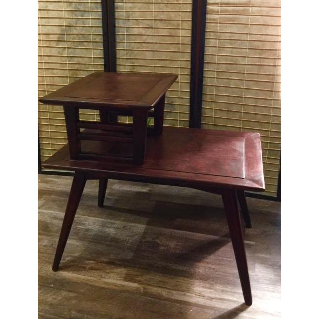 Image of Mid Century Modern Lamp Table