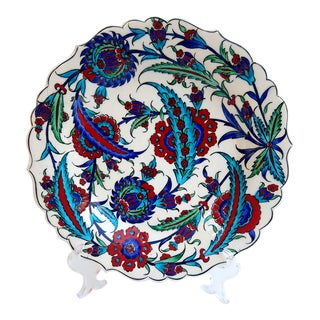 "12"" Ceramic Handmade Plate"