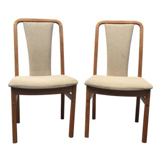 Danish Modern Dining Chairs- A Pair