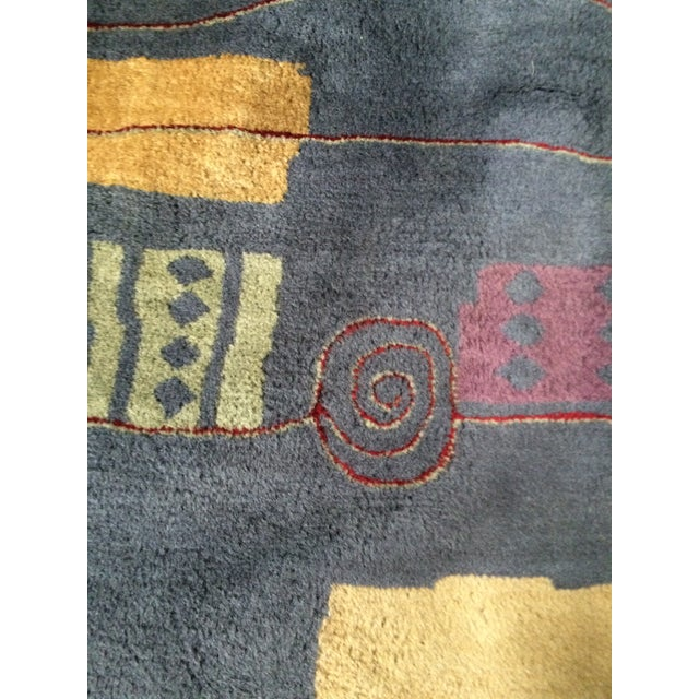 Contemporary Wool Rug - 5' x 8' - Image 3 of 7