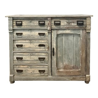 Antique Chippy Farmhouse Buffet