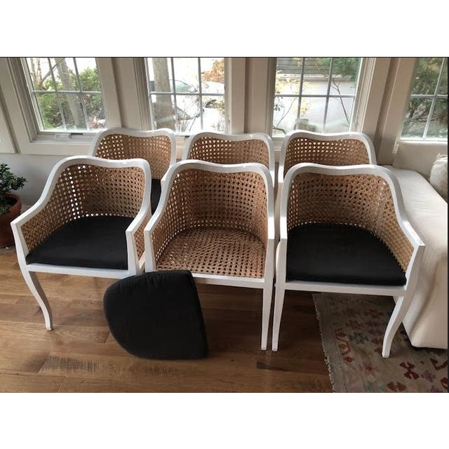 CB2 Tayabas Cane Side Chairs - Set of 6 - Image 5 of 5