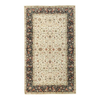 Black & Ivory Traditional Hand Woven Rug - 8′1″ × 13′10″
