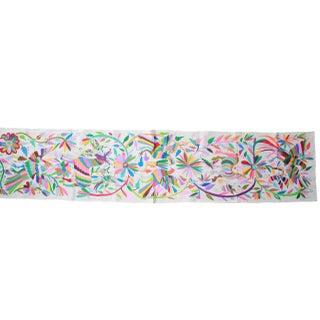 Multicolor Hand-Woven Tenango Table/Bed Runner