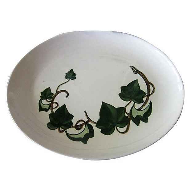Poppytrail California Ivy Oval Platters - A Pair - Image 2 of 3