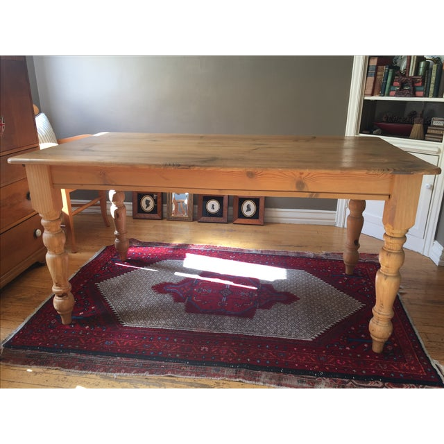 Pottery Barn Dining Table - Image 4 of 10