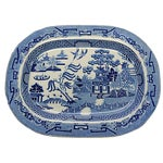 Image of Circa 1830 Antique Rogers English Willow Platter