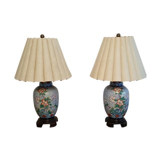 Wildwood Vintage Asian Inspired Lamps- A Pair