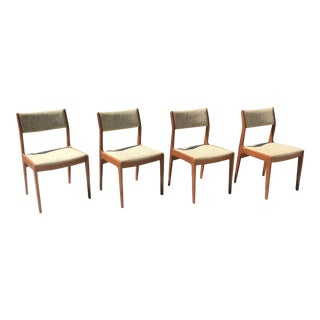Dixie Teak Dining Chairs - Set of 4