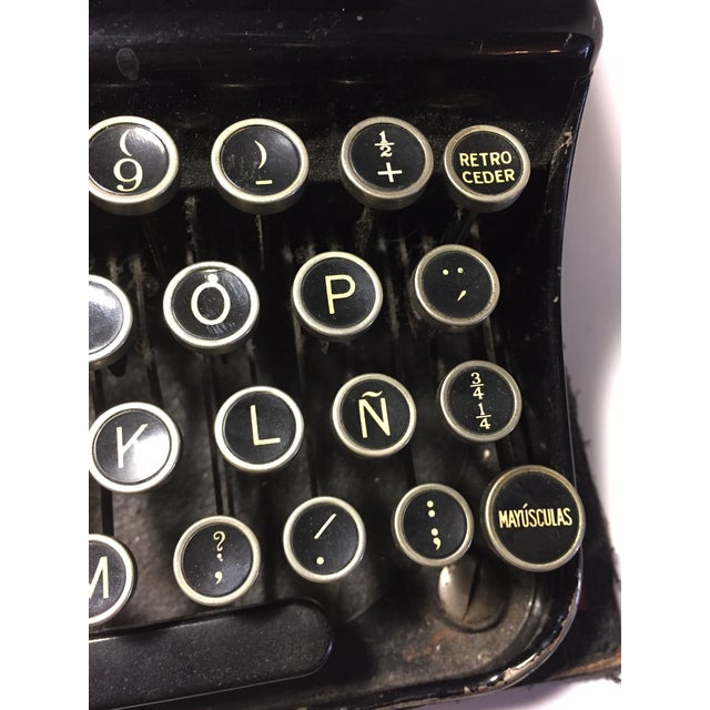 Antique Remington Spanish Typewriter - Image 7 of 10