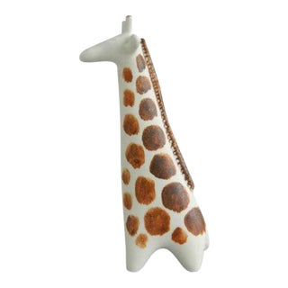 Vintage Arabia Finland Ceramic Giraffe Figure