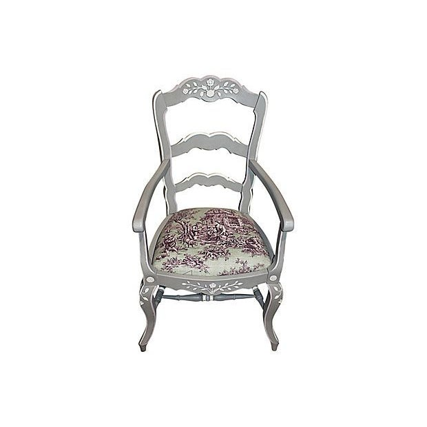 French Country Armchairs - A Pair - Image 3 of 7