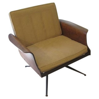 Mid-Century Modern Bent Wood Chair