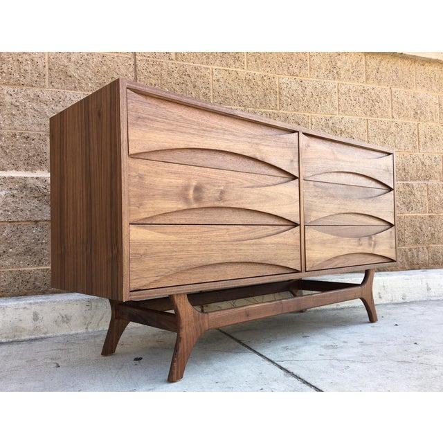 Mid-Century-Style Danish Modern Dresser - Image 3 of 5