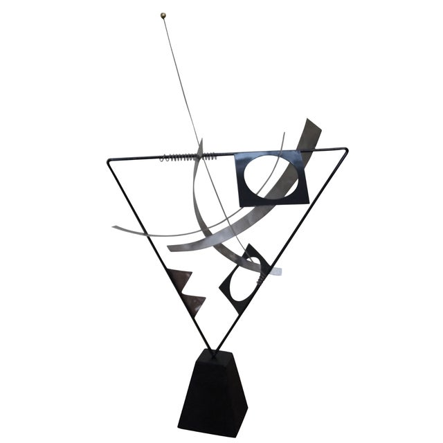 Curtis Jere Metal Mobile Kinetic Sculpture - Image 1 of 4