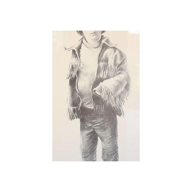 Image of Little Boy in Fringe Jacket by John Kelley