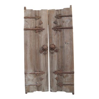 Vintage Wood & Ironwork Garden Gate