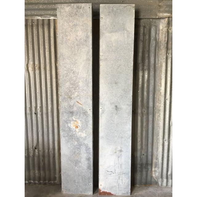 Vintage Large Industrial Metal Storage Shelf Unit - Image 4 of 11