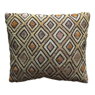 Vintage African Kuba Cloth Pillow