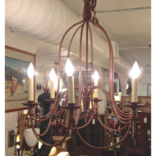 William Sonoma Home Lighting: William Sonoma 6 Light French Country Chandelier