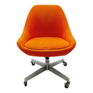 Vintage Amp Used Orange Office Chairs Chairish