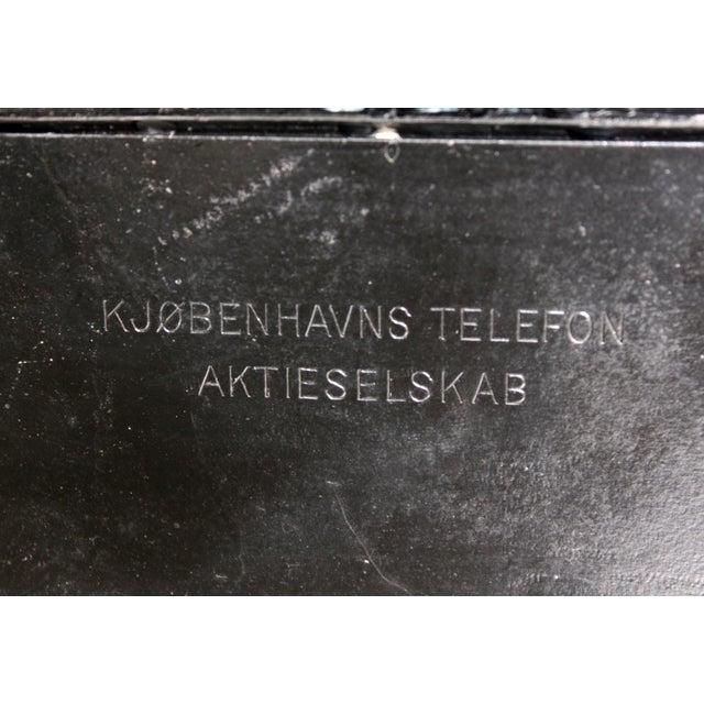 Antique European Kjobenhavns Cradle Telephone - Image 6 of 6