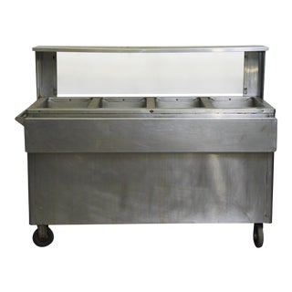 Seco Matic Stainless Steel Hot Food Table
