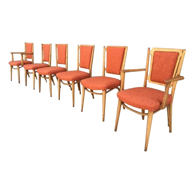 Mid Century Sculptural Dining Chairs - 6 - Image 1 of 5