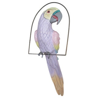 Large Paper Mache Parrot