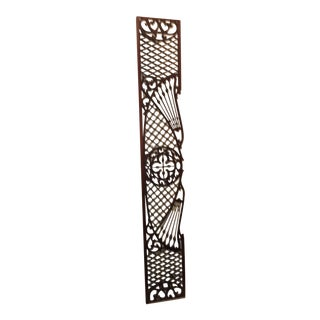 Victorian Wood Fretwork Gingerbread Overdoor