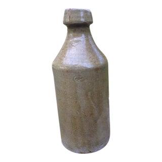 Antique Glazed Stoneware Bottle