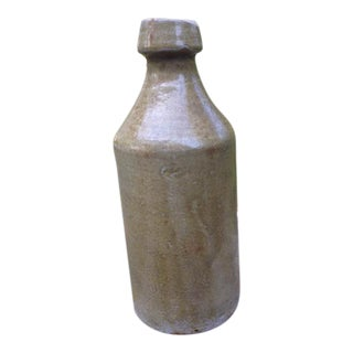 Antique Glazed Stoneware Bottle