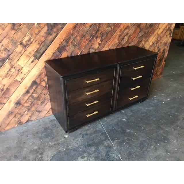 Image of Raymond Loewy Vintage Brown Industrial Dresser