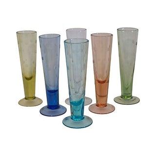 Pastel Polka Dot Shot Glasses - Set of 6