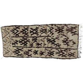 Berber Moroccan Rug - 4'9 x 10'10